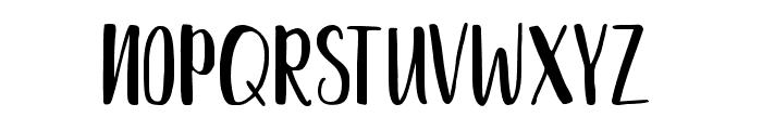 Delaney Sans Font LOWERCASE