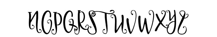 Delaney Font UPPERCASE