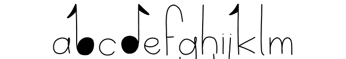 Delicate Font UPPERCASE