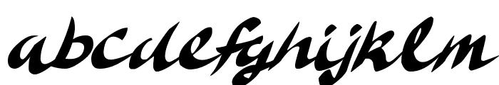 Delicious Doom Font LOWERCASE