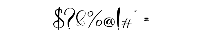 Deliciously Regular Font OTHER CHARS