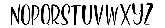 Deliciously Sans Font LOWERCASE