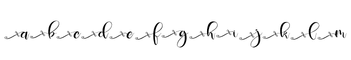 Deliciously ss3 Font UPPERCASE