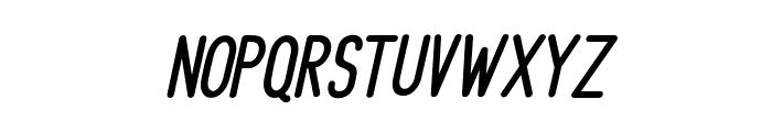 DelightSansSlant Font LOWERCASE