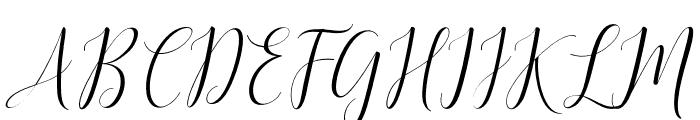 DelightSlant Font UPPERCASE