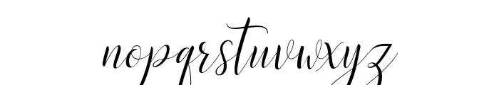 DelightSlant Font LOWERCASE