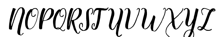 Delighted Font UPPERCASE