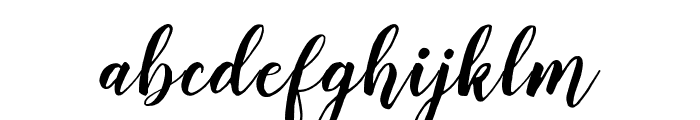 Delighted Font LOWERCASE