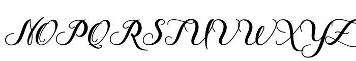 Delima Font UPPERCASE