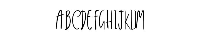 Delisha Font UPPERCASE