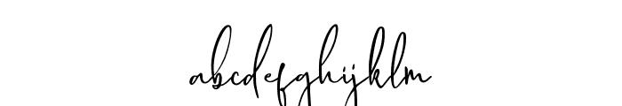 Delisha Font LOWERCASE