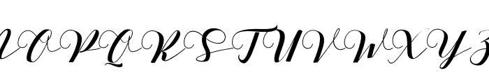 Delissa Font UPPERCASE