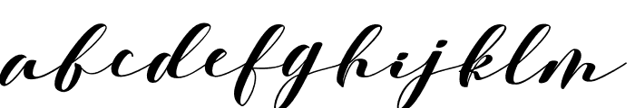 Delissa Font LOWERCASE