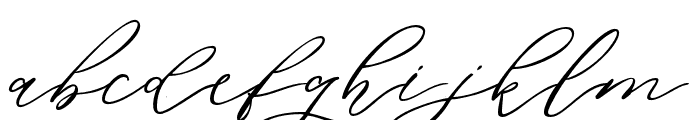 DellaBrian Font LOWERCASE