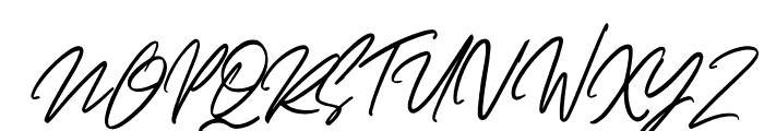 Dellamonde Italic Font UPPERCASE