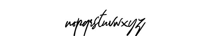 Dellamonde Italic Font LOWERCASE