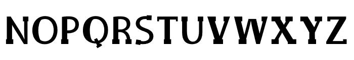 Delux Mainpal Font UPPERCASE
