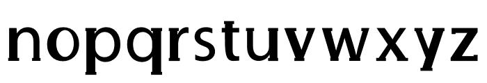 Delux Mainpal Font LOWERCASE