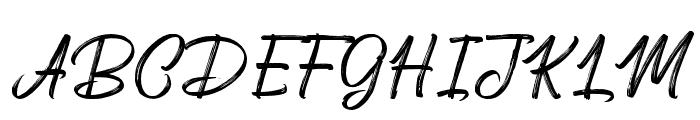 Deserttiony Font UPPERCASE