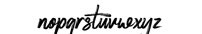 Deserttiony Font LOWERCASE