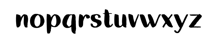Destined Duo Brush Font LOWERCASE