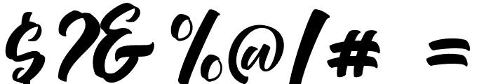 Devita Font OTHER CHARS