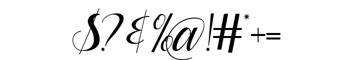 Dianora Font OTHER CHARS