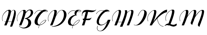 Dianora Font UPPERCASE