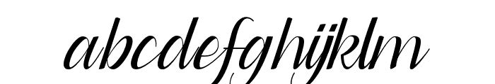 Dianora Font LOWERCASE