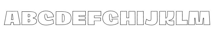 Dingos-DisplayOutlineBlack Font UPPERCASE