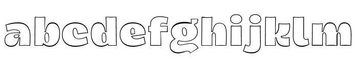 Dingos-DisplayOutlineBlack Font LOWERCASE