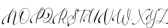 DinkyVenice Regular Font UPPERCASE