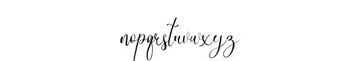 DinkyVenice Regular Font LOWERCASE