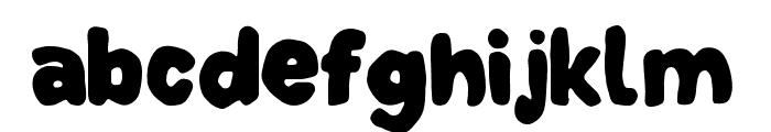 DinoTypeLineClean Font LOWERCASE
