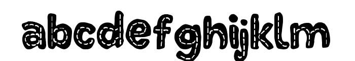 DinoTypeLine Font LOWERCASE