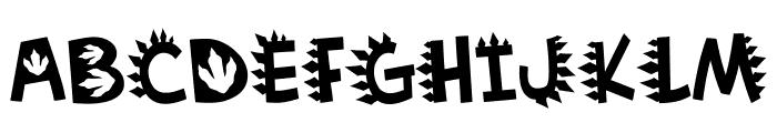 Dinosaur TM Font LOWERCASE