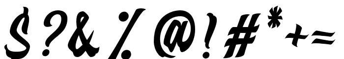Distropica-Regular Font OTHER CHARS