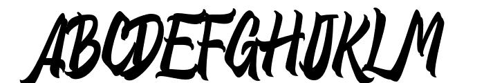 Distropica-Regular Font UPPERCASE