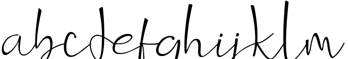 Dittoons Font LOWERCASE