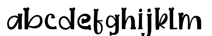 Dogmeal Figure Font LOWERCASE