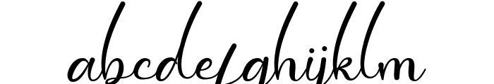 Dollie Font LOWERCASE