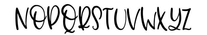 Dolores The Schnauzer Font UPPERCASE