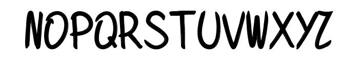 Donkey Font UPPERCASE