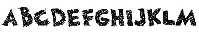 DoodleChalk Voysla Font LOWERCASE