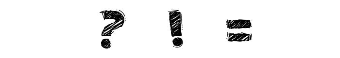 DoodleChalkVoysla Font OTHER CHARS