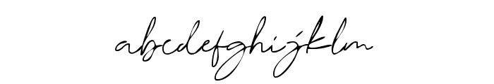 DorothyClark-Ink Font LOWERCASE