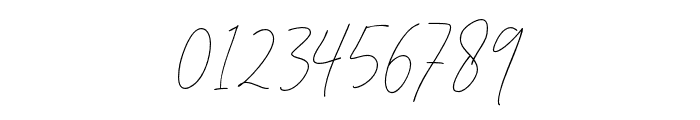 DorothyClark-Signature Font OTHER CHARS