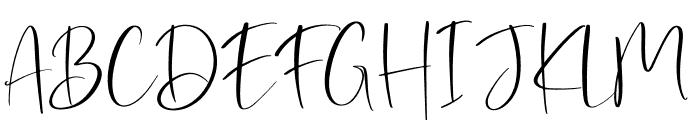 Dostella Font UPPERCASE