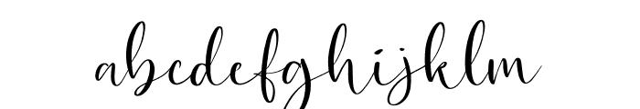 Dostella Font LOWERCASE