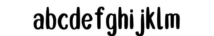 Double Smoothie Font LOWERCASE